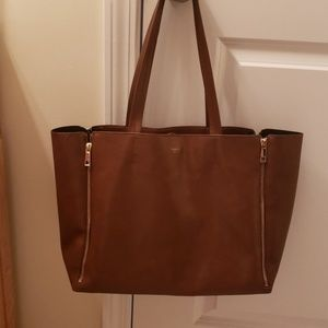Sorial New York leather sholder bag